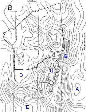 [גיא־הרי (ge-harai), or 'valley of mountains', is the valley at the bottom of this topo map.]